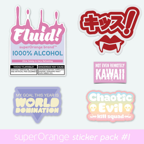 Sticker Pack Volume 1