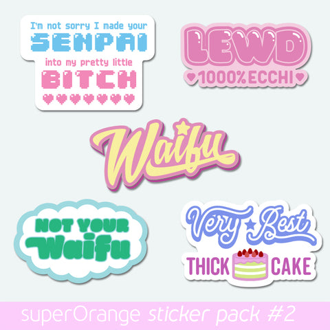 Sticker Pack Volume 2