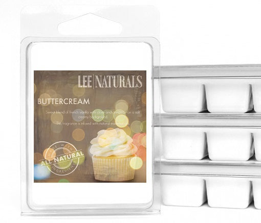 BUTTERCREAM Premium 6-Piece Soy Wax Melts - LeeNaturals.com - 1