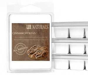 CINNAMON BUNS Premium 6-Piece Soy Wax Melts - LeeNaturals.com - 1