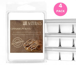 CINNAMON BUNS Premium 6-Piece Soy Wax Melts