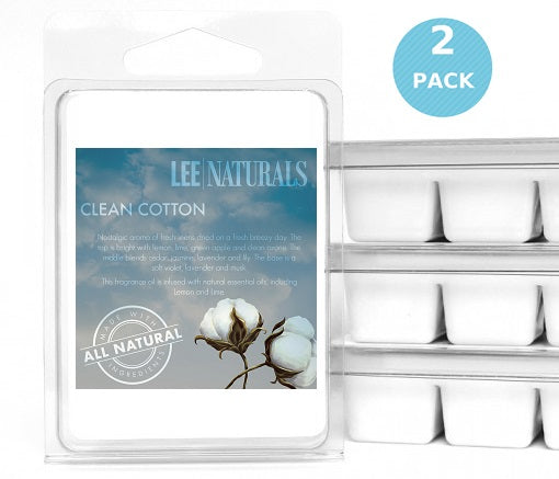 CLEAN COTTON Premium 6-Piece Soy Wax Melts