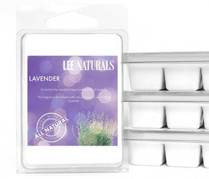 LAVENDER Premium 6-Piece Soy Wax Melts - LeeNaturals.com - 1