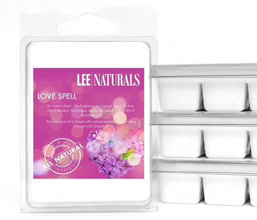 LOVE SPELL Premium 6-Piece Soy Wax Melts - LeeNaturals.com - 1