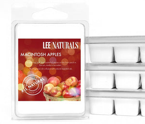 MACINTOSH APPLES Premium 6-Piece Soy Wax Melts
