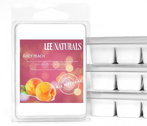 JUICY PEACH Premium 6-Piece Soy Wax Melts