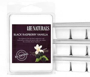 BLACK RASPBERRY VANILLA Premium 6-Piece Soy Wax Melts - LeeNaturals.com - 1