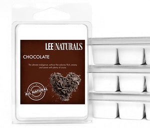CHOCOLATE Premium 6-Piece Soy Wax Melts - LeeNaturals.com - 1
