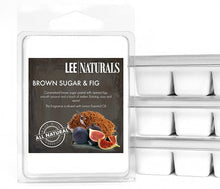 BROWN SUGAR & FIG Premium 6-Piece Soy Wax Melts - LeeNaturals.com - 1