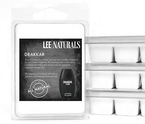 DRAKKAR Premium 6-Piece Soy Wax Melts - LeeNaturals.com - 1