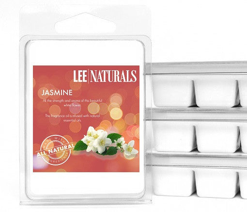 JASMINE Premium 6-Piece Soy Wax Melts - LeeNaturals.com - 1