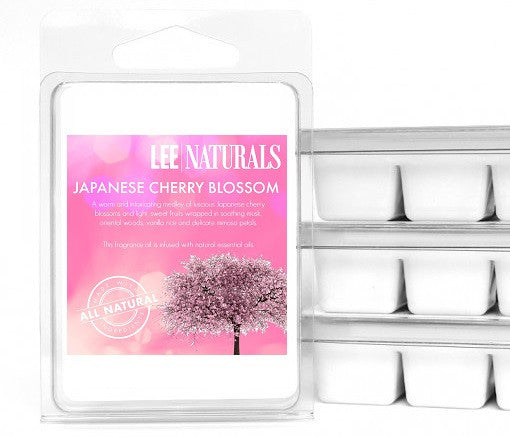JAPANESE CHERRY BLOSSOM Premium 6-Piece Soy Wax Melts