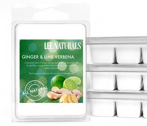 GINGER & LIME VERBENA Premium 6-Piece Soy Wax Melts