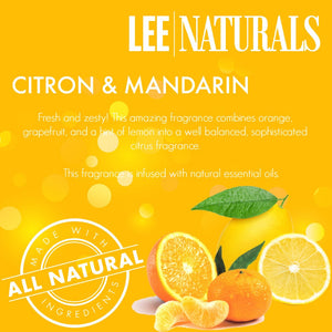 CITRON & MANDARIN Premium 6-Piece Soy Wax Melts - LeeNaturals.com - 2