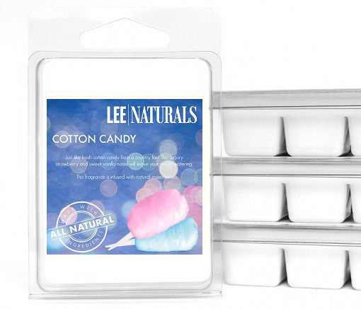 COTTON CANDY Premium 6-Piece Soy Wax Melts