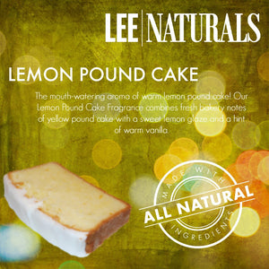 LEMON POUND CAKE Premium 6-Piece Soy Wax Melts
