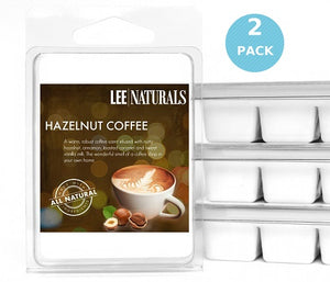 HAZELNUT COFFEE Premium 6-Piece Soy Wax Melts