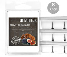 BROWN SUGAR & FIG Premium 6-Piece Soy Wax Melts - LeeNaturals.com - 5