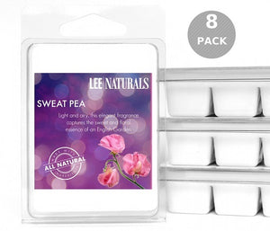 SWEET PEA Premium 6-Piece Soy Wax Melts