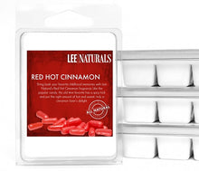 RED HOT CINNAMON Premium 6-Piece Soy Wax Melts - LeeNaturals.com - 1