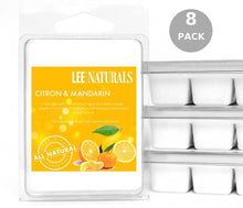 CITRON & MANDARIN Premium 6-Piece Soy Wax Melts - LeeNaturals.com - 5