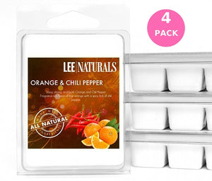 ORANGE and CHILI PEPPER Premium 6-Piece Soy Wax Melts