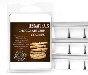 CHOCOLATE CHIP COOKIES Premium 6-Piece Soy Wax Melts - LeeNaturals.com - 1
