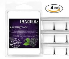 BLACKBERRY SAGE Premium 6-Piece Soy Wax Melt Clamshell