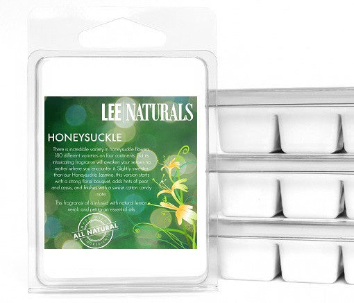 HONEYSUCKLE Premium 6-Piece Soy Wax Melt Clamshell - LeeNaturals.com - 1