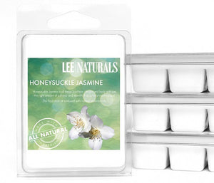 HONEYSUCKLE JASMINE Premium 6-Piece Soy Wax Melt Clamshell - LeeNaturals.com - 1