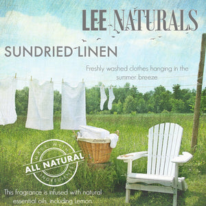 SUNDRIED LINEN Premium 6-Piece Soy Wax Melt Clamshell