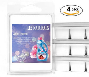 APRIL FRESH Premium 6-Piece Soy Wax Melt Clamshell