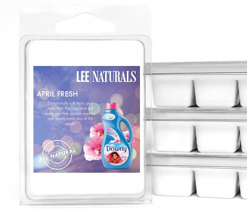 APRIL FRESH Premium 6-Piece Soy Wax Melt Clamshell - LeeNaturals.com - 1