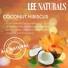 COCONUT HIBISCUS (LN EXCLUSIVE) Premium 6-Piece Soy Wax Melt Clamshell - LeeNaturals.com - 4
