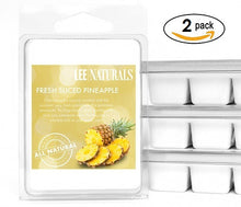 FRESH SLICED PINEAPPLE Premium 6-Piece Soy Wax Melt Clamshell