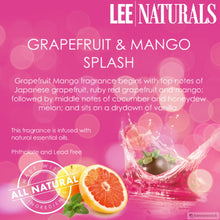 GRAPEFRUIT & MANGO SPLASH Premium 6-Piece Soy Wax Melt Clamshell - LeeNaturals.com - 4