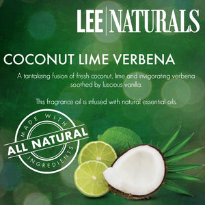 COCONUT LIME VERBENA  Premium Soy Tumbler Candle