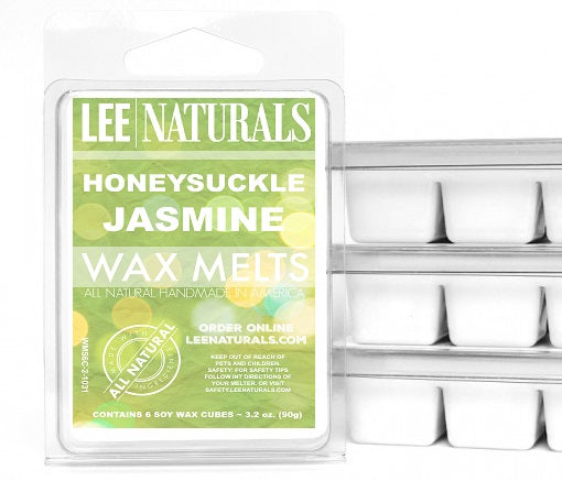 HONEYSUCKLE JASMINE Premium 6-Piece Soy Wax Melt Clamshell