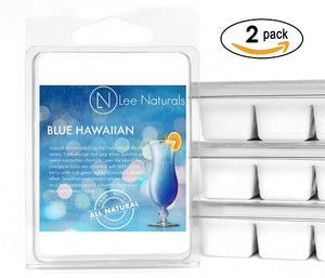 BLUE HAWAIIAN Premium 6-Piece Soy Wax Melt Clamshell