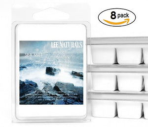 RELAXING SEA MIST Premium 6-Piece Soy Wax Melt Clamshell