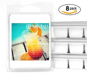 SEX ON THE BEACH Premium 6-Piece Soy Wax Melt Clamshell