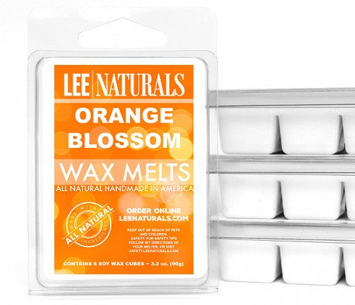 ORANGE BLOSSOM Premium 6-Piece Soy Wax Melt Clamshell