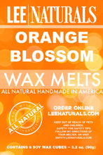 ORANGE BLOSSOM Premium 6-Piece Soy Wax Melt Clamshell - LeeNaturals.com - 3