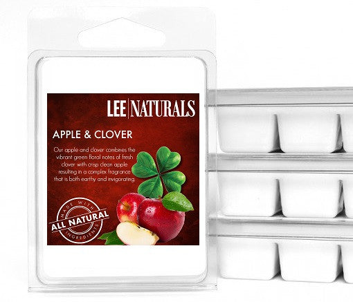 APPLE & CLOVER Premium 6-Piece Soy Wax Melts - LeeNaturals.com - 1