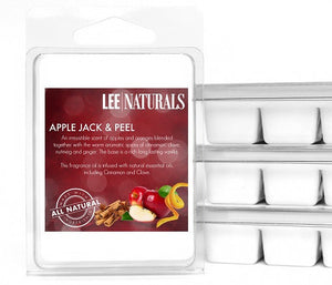 APPLE JACK & PEEL Premium 6-Piece Soy Wax Melts - LeeNaturals.com - 1