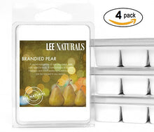 BRANDIED PEAR Premium 6-Piece Soy Wax Melts