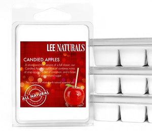 CANDIED APPLE Premium 6-Piece Soy Wax Melts - LeeNaturals.com - 1
