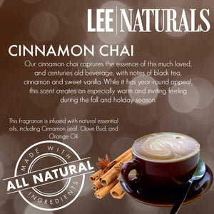 CINNAMON CHAI Premium 6-Piece Soy Wax Melts - LeeNaturals.com - 4