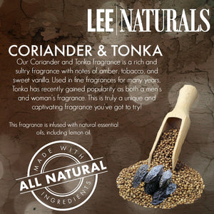 CORIANDER & TONKA Premium 6-Piece Soy Wax Melts