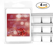 CRANBERRY MARMALADE Premium 6-Piece Soy Wax Melts